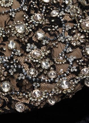- ALICE + OLIVIA - 'Dorian' Crystal Embellished Tier Dress
