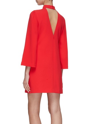 Back View - Click To Enlarge - ALICE + OLIVIA - 'Bailey' Bell Sleeve Dress