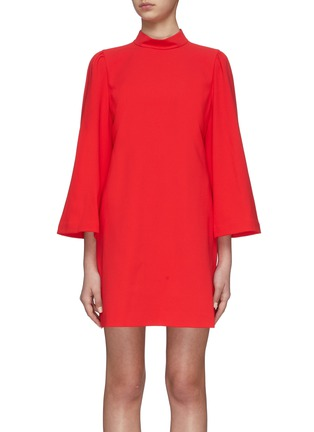 Main View - Click To Enlarge - ALICE + OLIVIA - 'Bailey' Bell Sleeve Dress