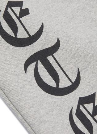 - VETEMENTS - 'Gothic' logo outseam sweatpants