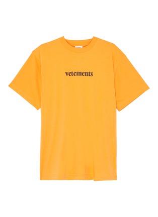 Main View - Click To Enlarge - VETEMENTS - Logo print T-shirt
