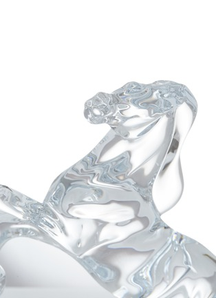 Detail View - Click To Enlarge - BACCARAT - Cheval Cabre Horse Crystal Sculpture