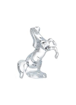 - BACCARAT - Cheval Cabre Horse Crystal Sculpture