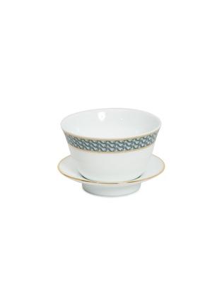 - ANDRÉ FU LIVING - Mid Century Rhythm Chinese Gai Wan Porcelain Tea Cup Set – Sage Green