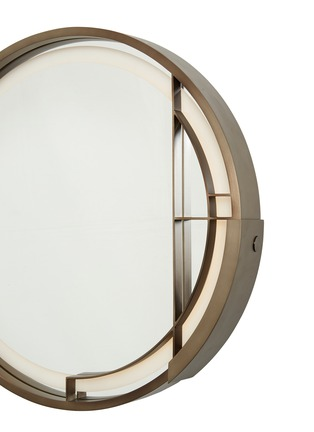 Detail View - Click To Enlarge - ANDRÉ FU LIVING - Mid Century Rhythm Round Medium Wall Lamp With Mirror