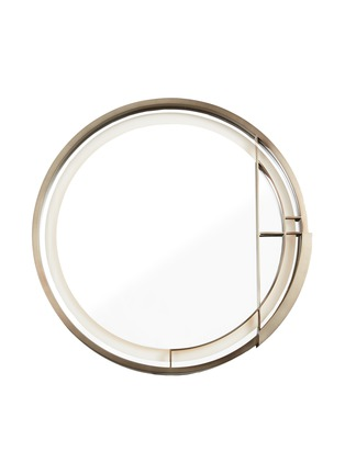 Main View - Click To Enlarge - ANDRÉ FU LIVING - Mid Century Rhythm Round Medium Wall Lamp With Mirror