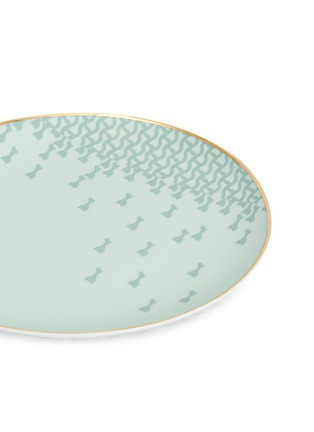 Detail View - Click To Enlarge - ANDRÉ FU LIVING - Mid Century Rhythm Porcelain Fruit Plate 21 – Sage Green