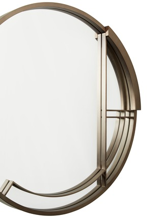 Detail View - Click To Enlarge - ANDRÉ FU LIVING - Mid Century Rhythm Round Large Mirror