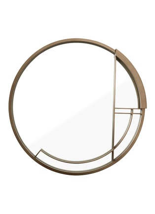 Main View - Click To Enlarge - ANDRÉ FU LIVING - Mid Century Rhythm Round Large Mirror
