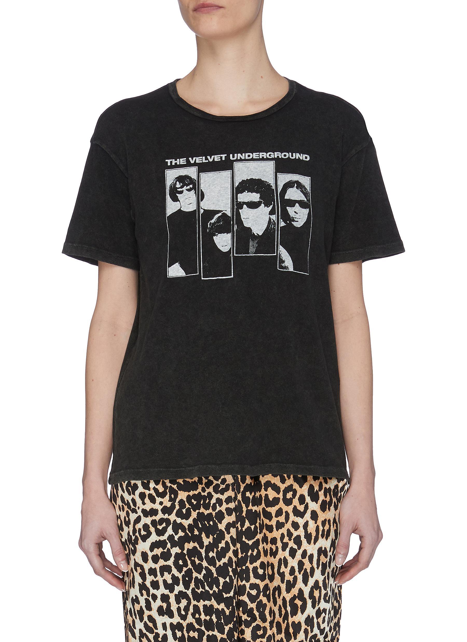 shop R13 'Velvet Underground' Group Shot T-shirt online