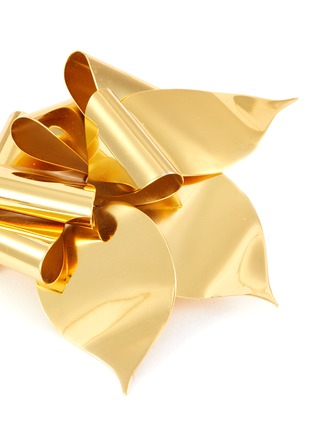 Detail View - Click To Enlarge - LANE CRAWFORD VINTAGE ACCESSORIES - Origami flower brooch