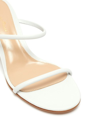 Detail View - Click To Enlarge - GIANVITO ROSSI - Block heel leather sandals