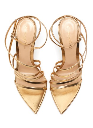 Detail View - Click To Enlarge - GIANVITO ROSSI - Multistrap leather sandals