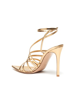 - GIANVITO ROSSI - Multistrap leather sandals