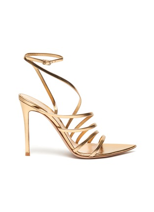 Main View - Click To Enlarge - GIANVITO ROSSI - Multistrap leather sandals