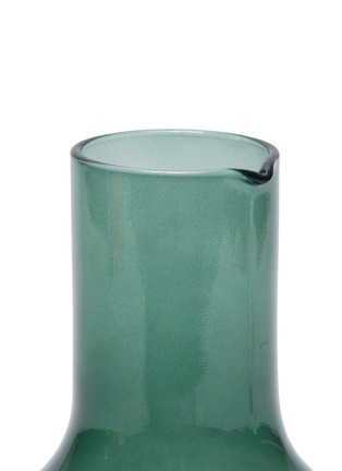 Detail View - Click To Enlarge - R+D LAB - Velasca Carafe and Acqua Glass set – Slate Green