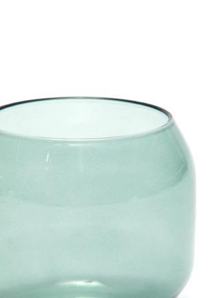Detail View - Click To Enlarge - R+D LAB - Velasca Acqua Glass Set – Slate Green