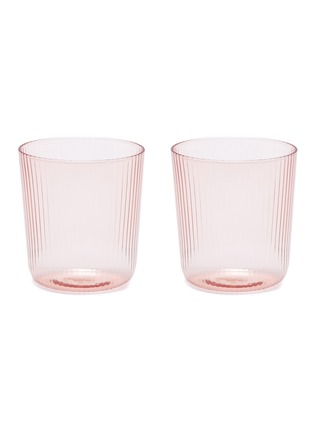 Main View - Click To Enlarge - R+D LAB - Luisa Vino Glass Set – Cameo Pink