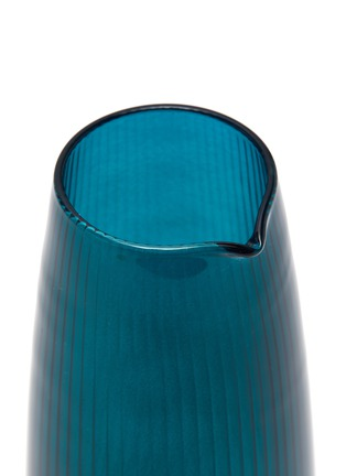 Detail View - Click To Enlarge - R+D LAB - Luisa Carafe and Vino Glass Set – Antwerp Blue