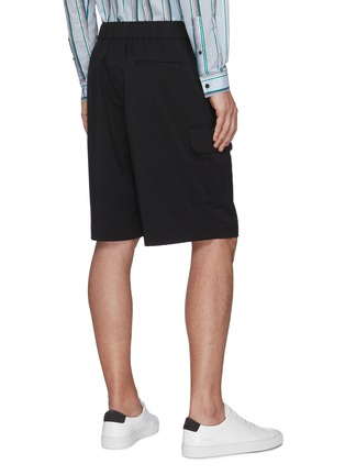 Back View - Click To Enlarge - EQUIL - Drawstring cargo shorts