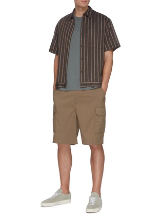 Figure View - Click To Enlarge - EQUIL - Drawstring cargo shorts