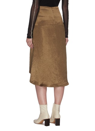 Back View - Click To Enlarge - EQUIL - Asymmetric hem skirt