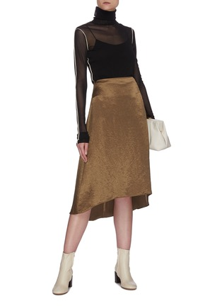 Figure View - Click To Enlarge - EQUIL - Asymmetric hem skirt