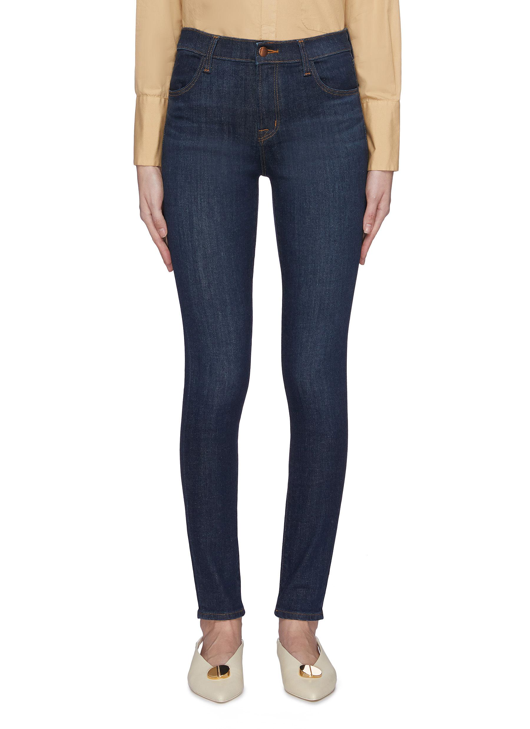 shop J Brand 'Maria' high rise dark wash skinny jeans online