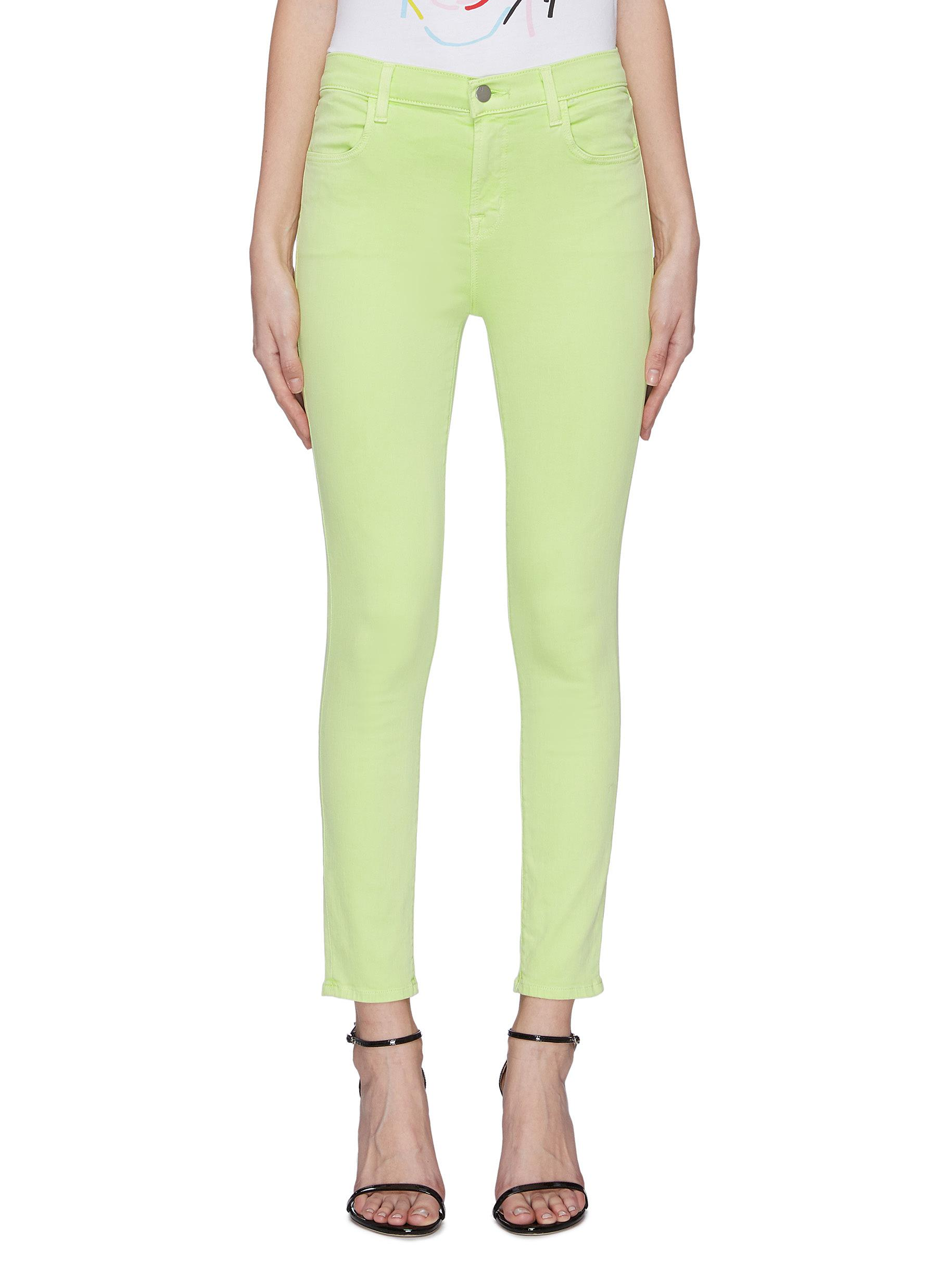 Buy J Brand Jeans 'Alana' high rise crop skinny jeans
