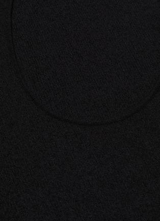 - BOTTEGA VENETA - One shoulder twisted dress