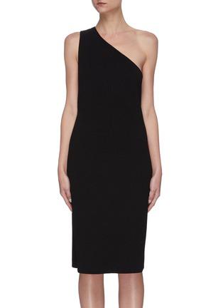 Main View - Click To Enlarge - BOTTEGA VENETA - One shoulder twisted dress
