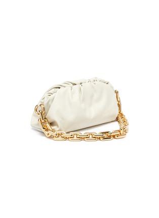 Detail View - Click To Enlarge - BOTTEGA VENETA - The Pouch' leather shoulder bag