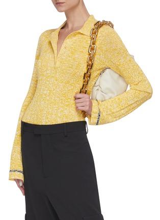 Figure View - Click To Enlarge - BOTTEGA VENETA - The Pouch' leather shoulder bag
