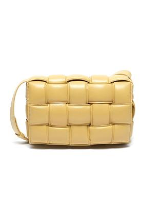 Main View - Click To Enlarge - BOTTEGA VENETA - Cassette' small padded leather crossbody bag