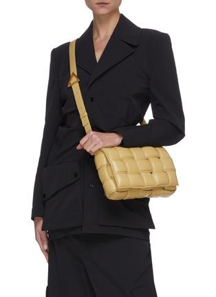 Figure View - Click To Enlarge - BOTTEGA VENETA - Cassette' small padded leather crossbody bag