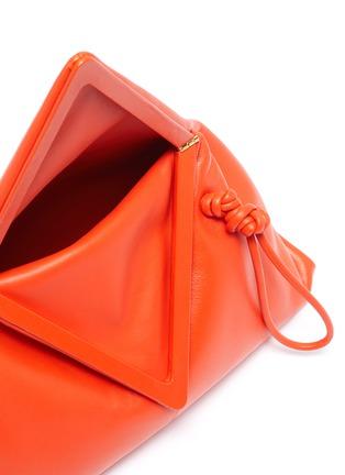 Detail View - Click To Enlarge - BOTTEGA VENETA - Triangle fold small clutch