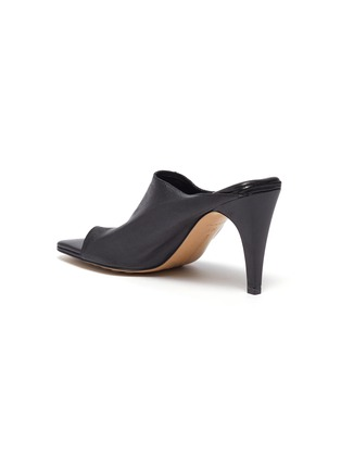 - BOTTEGA VENETA - Runway toe leather mules