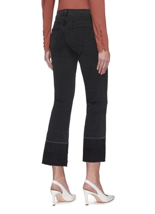 Back View - Click To Enlarge - J BRAND - 'Selena' Dark Wash Boot Cut Jeans