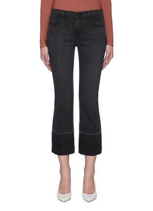 Main View - Click To Enlarge - J BRAND - 'Selena' Dark Wash Boot Cut Jeans