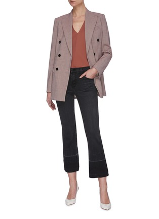Figure View - Click To Enlarge - J BRAND - 'Selena' Dark Wash Boot Cut Jeans