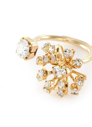 Detail View - Click To Enlarge - ROSANTICA - Arcadia' open crystal ring