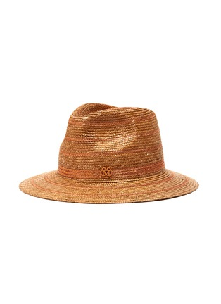 Main View - Click To Enlarge - MAISON MICHEL - Rico' straw fedora hat