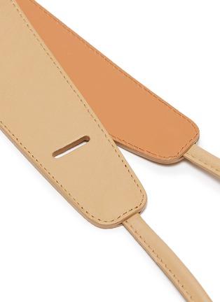 Detail View - Click To Enlarge - MAISON BOINET - Corset Leather Belt
