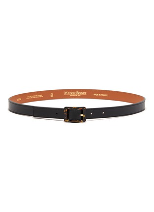 Main View - Click To Enlarge - MAISON BOINET - Nappa Leather Belt