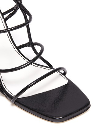 Detail View - Click To Enlarge - PROENZA SCHOULER - Strappy leather sandals