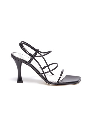 Main View - Click To Enlarge - PROENZA SCHOULER - Strappy leather sandals