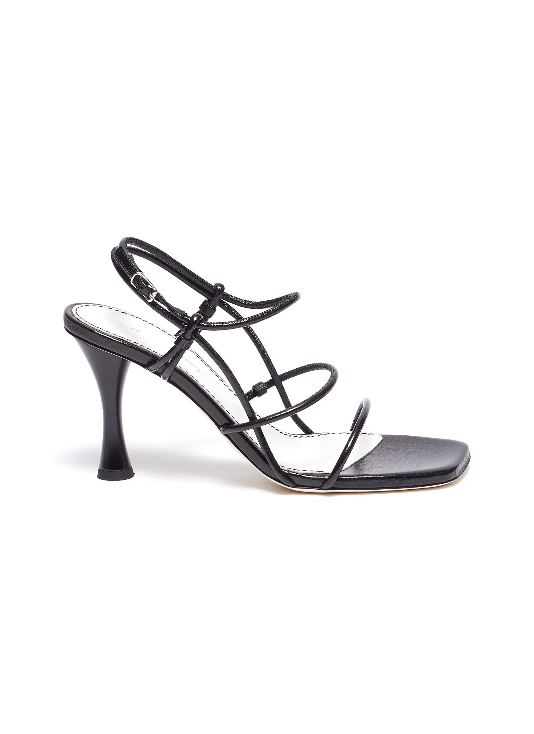 Proenza Schouler Strappy leather sandals