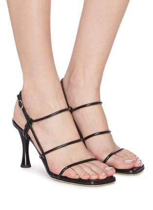 Figure View - Click To Enlarge - PROENZA SCHOULER - Strappy leather sandals