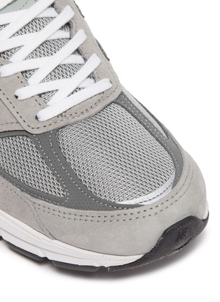 Detail View - Click To Enlarge - NEW BALANCE - 'Evergreen' patchwork contrast sole sneakers
