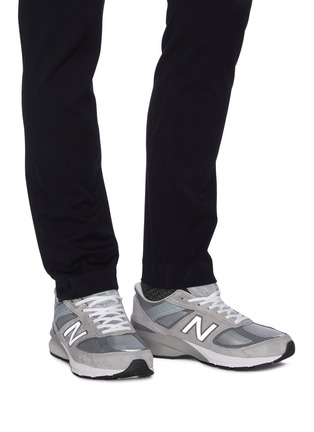 Figure View - Click To Enlarge - NEW BALANCE - 'Evergreen' patchwork contrast sole sneakers